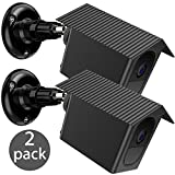 Arlo Pro 2 / Pro Wall Mount Bracket, EEEKit 2-pack Weather Proof 360 Degree Protective Adjustable Indoor/Outdoor Mount Cover Case for Arlo Pro 2/Pro Security Camera (Black)