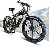 Bicicleta electrica 48V 14AH 400W BICICLETA ELÉCTRICA 26 '' 4.0 Bicicleta de neumático gordo 30 Velocidad MTB MTB Ciudad adulta eléctrica de la bicicleta para mujer con batería de litio de gran capaci