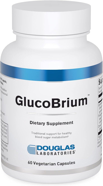 贈物 Douglas Laboratories - Glucobrium Supports Glucose Healthy 返品送料無料 Met