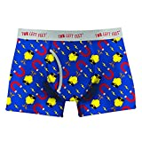 Two Left Feet Mens Boxer Brief Underwear, Chick Magnet, Large