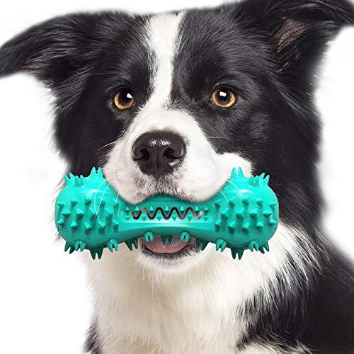 Aweskmod Giocattoli per Cani Spazzolino per Cani Giochi da Masticare Spazzolino Cane Denti Cani Giochi con Squeak Giocattolo da Masticare in Gomma Non Tossica per Piccolo e Medio Cani