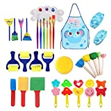 Set de pintura para niños 32 piezas niños conjuntos de pintura suministros para dibujo niños pintura conjunto para niños