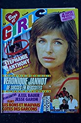 BOYS et GIRLS n° 248 SEPTEMBRE 1984 COVER JOHNNY HALLYDAY POSTER MICHAEL JACKSON JEANNE MAS AXEL BAUER