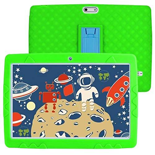 SANNUO Tableta educativa para niños 10 Pulgadas Android 10.0 3G WiFi RAM 3GB ROM 32GB Tableta Compatible con Aprendizaje en línea, película wacth, etc.