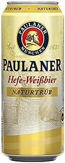 24 x Paulaner Hefeweissbier naturaleza nublado 0,5L estaño 5,5% Vol.alc