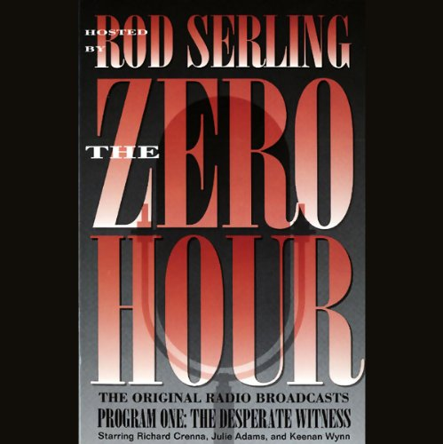 The Zero Hour, Program One audiobook cover art