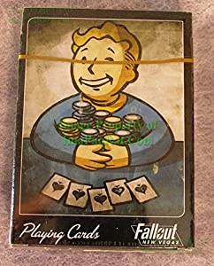 FALLOUT New Vegas VAULT BOY Promo Deck of Playing Cards NEW Sealed! VHTF