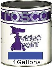 Rosco Chroma Key Paint, Matte, 1 Gallon, Blue
