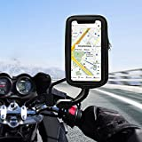 unibelin Support Téléphone Etanche 360° Rotatable Support Moto Universel scooter...