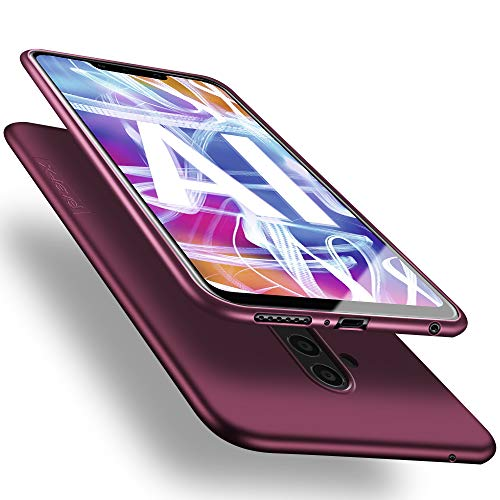 X-level Huawei Mate 20 Lite Hülle, [Guardian Serie] Soft Flex Silikon Premium TPU Echtes Handygefühl Handyhülle Schutzhülle für Huawei Mate 20 Lite Hülle Cover - Weinrot
