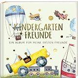 Kindergartenfreunde - FAHRZEUGE: ein Album für meine ersten Freunde (Freundebuch Kindergarten 3 Jahre) PAPERISH®