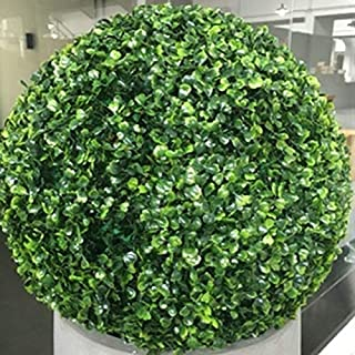 NUTY DESTY 3 Topiary Balls - New 12-40cm Artificial Grass Topiary Balls Out/Indoor Hanging Ball for Wedding Party DIY Hotel Home Yard Garden Decoration