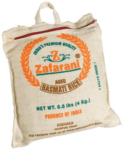Zafarani Basmati Rice Reserve 70.4-Ounce Bag