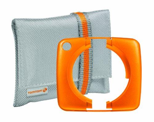 Tomtom 9UUA.001.11 beschermhoes en beschermhoes voor navigatietoestel, oranje