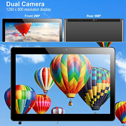 "Tablette Tactile 10.1 Pouces 3G Qimaoo Tablette Android 7.0 Quad Core 1Go RAM 16Go ROM 800*1280 IPS Écran Doule SIM Caméra WiFi/Bluetooth/GPS/OTG 10.1"" Tablette"