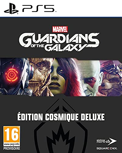 Marvel'S Guardians Of The Galaxy: Édition Cosmique Deluxe (PlayStation 5)