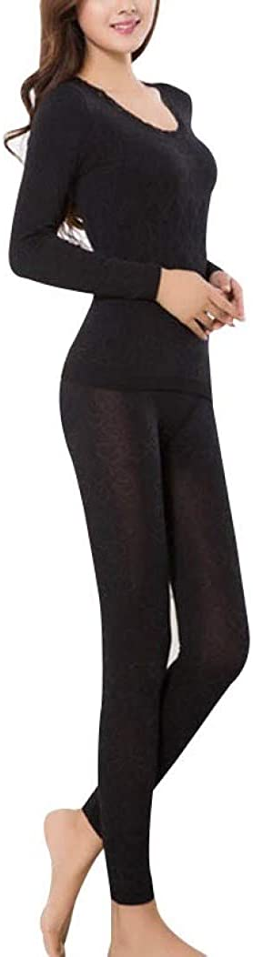2 Piece/Set Female Thermal Long Underwears Women Breathable Warm Long Johns Slim Underwear Set