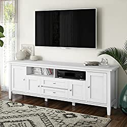 Simpli Home Warm Shaker White TV Stand