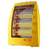 SYLTL Calentador Halógeno, Calefactor Eléctrico Cerámico Oscilación Automática Viento Caliente Y Natural Calentador Portátil para El Hogar Y La Oficina, 1050W