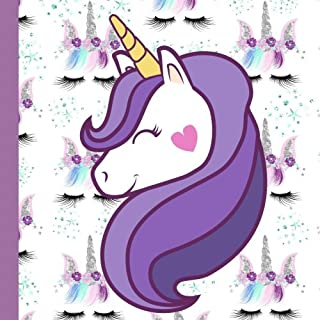 Wink Unicorn Party: Guest Book Plus Printable Unicorn Party Invitations,Thank You Cards Plus Gift Tracker (Wink Unicorn Pa...