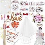 Faburo Bride to Party Decoration Enterrement, Hen Party Accessoires EVJF avec Ballons...