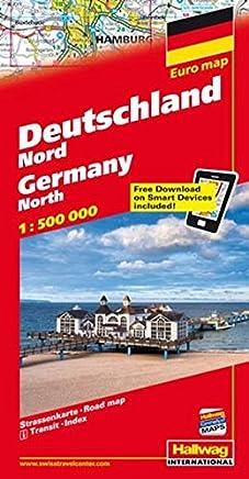 Germania del Nord-Deutschland Nord-Germany North 1:500.000