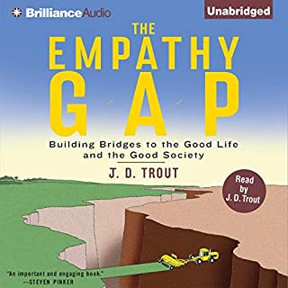 The Empathy Gap audiobook cover art