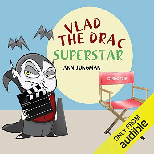 Vlad the Drac Superstar audiobook cover art