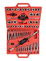 TEKTON 7561 Tap and Die Set, Metric, 45-Piece