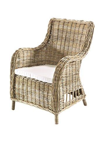 Kobolo Rattansessel Handarbeit Möbel Rattanmöbel Sessel aus Rattan
