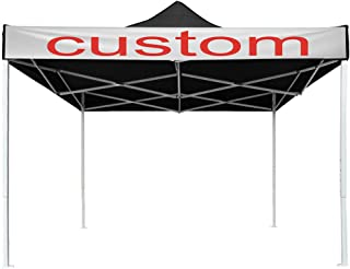 Yescom 10x10 EZ Pop Up Canopy Tent Outdoor Party Instant Shelter Portable Folding Canopy with Carry Bag, Black