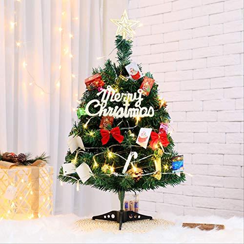 HTHJA Mini Árbol De Navidad, Decoraciones De Navidad De Mesa, Árbol De...