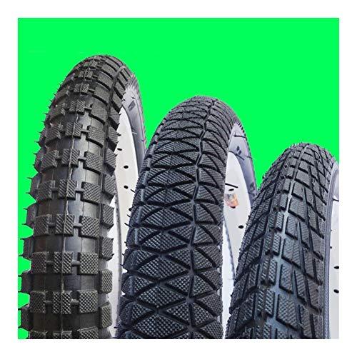 SHPING Neumáticos de Bicicleta niños 12/14/16 / 18inch * 1,75/2.125/2.4 Neumáticos Kid Bicicletas niños de la Bici Bike Tires Infantil Ciclismo Piezas (Color : 16 X 2 4)