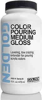 Golden Artist Colors Color Pouring Medium, Gloss Finish, 16 Ounce Bottle (3501-6)