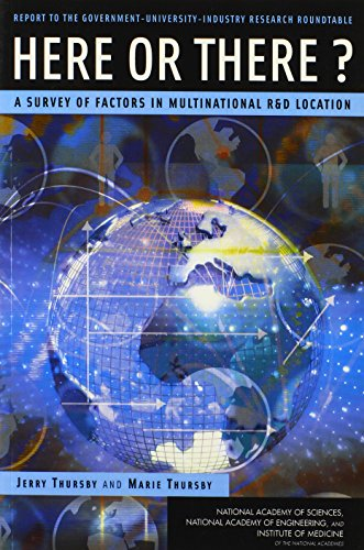 Here or There?: A Survey of Factors in Multinational R&D Location -- Report to the Government-University-Industry Research Roundtable