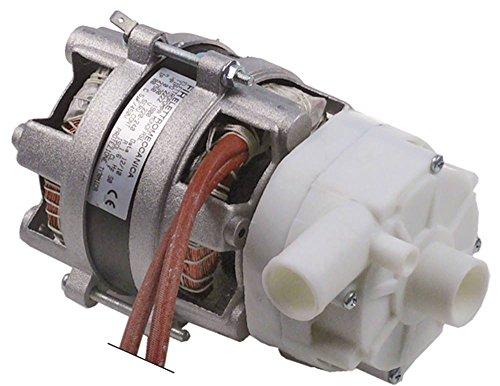 FIR 2222.1900 - Bomba para lavavajillas Sammic SL-21B, SL-21, SL-20, SL-20D, SL-21BD, 0,22 kW/0,3 CV, entrada de 230 V, diámetro de 28 mm, longitud de 191 mm