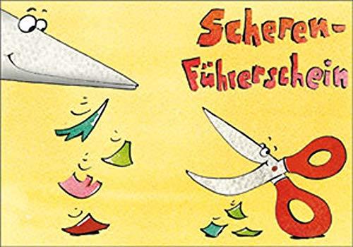 Scheren-Führerschein - Klassensatz Führerscheine (Bergedorfer® Führerscheine)