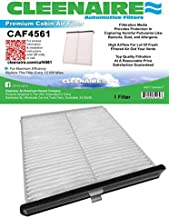 Cleenaire CAF4561 Protection Against Dust, Smog, Gases, Odors and Allergens, Cabin Air Filter for Your 14 To Current Mazda 3, Mazda 6, CX-5