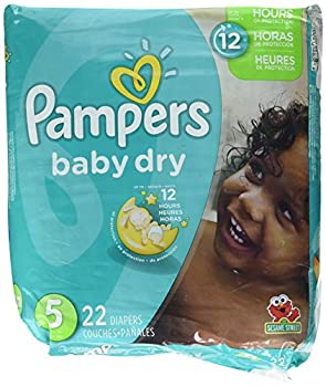 Pampers Baby Dry Diapers - Size 5-22 ct