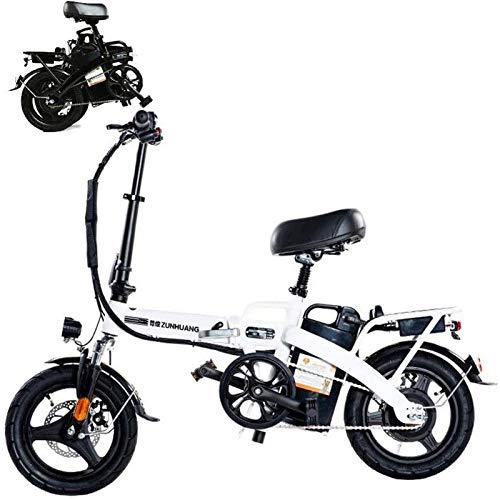 Bicicleta de montaña eléctrica, Bicicleta eléctrica inteligente de bicicletas de montaña for adultos plegable Bicicletas E E-bici-100 kilometros 300 kilometros Mileage36V El más alto 25 kilometros 28