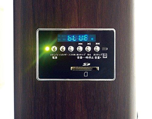 Bluetooth対応アンプ内蔵デュアルウーファータワースピカーカーTSX230BTII