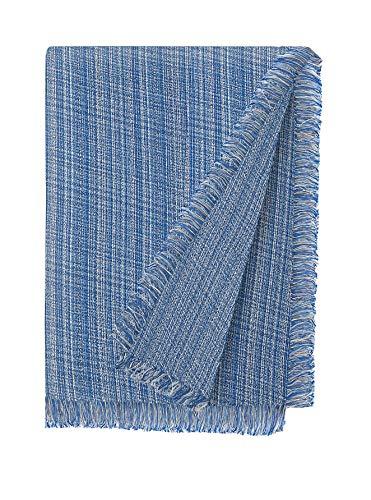 Martina Home Jaspe Foulard Multiusos, Tela, Azul, 180 x 260 cm