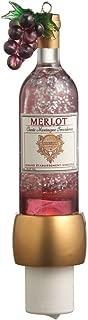 MIDWEST-CBK Merlot Wine Bottle Shimmer Night Light