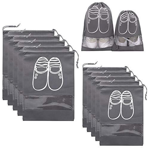 AMAYGA 10 Piezas Bolsas de Zapatos, Multifunción a Prueba d