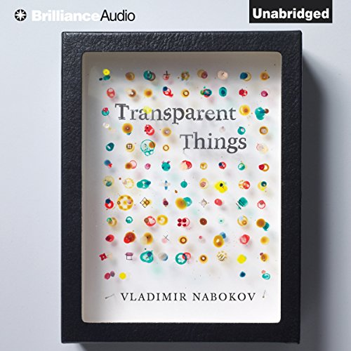 Transparent Things audiobook cover art
