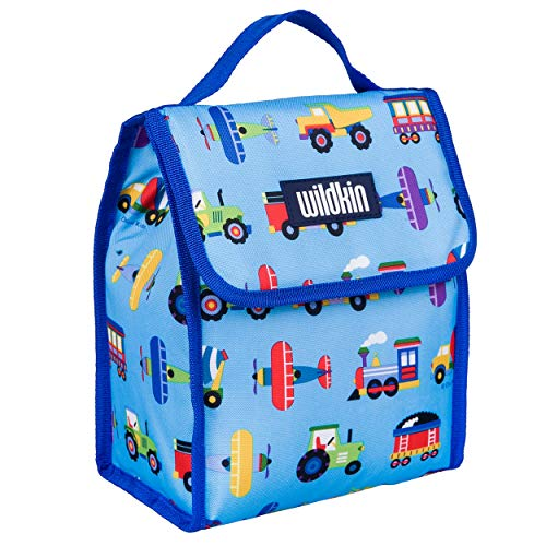 Wildkin Kids Insulated Lunch Bag for Boys and Girls,Lunch Bags Ideal Size for Packing Hot or Cold Snacks for School and Travel, Mom