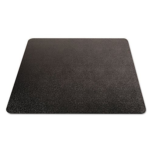 deflecto CM21242BLK EconoMat Anytime Use Chair Mat for Hard Floor 45 x 53 Black Photo #7