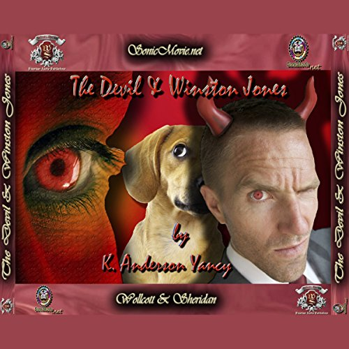The Devil & Winston Jones audiobook cover art