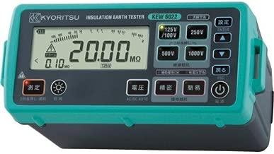 共立電気計器 デジタル絶縁/接地抵抗計 6022