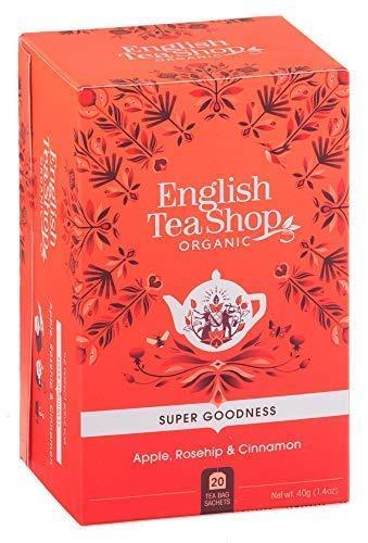 English Tea Shop Infuso Biologico di Mela, Bacche di Rosa Canina e Cannella Made in Sri Lanka - 1 x 20 Bustine di Tè (40 Grammi)